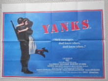Yanks, Original UK Quad Poster, Richard Gere,  '79